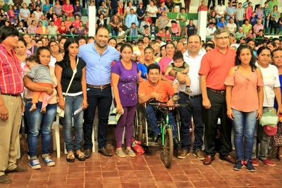 Desarrollo Social entregó transferencias de Tekoporã a 1.300 familias de Paso Yobái