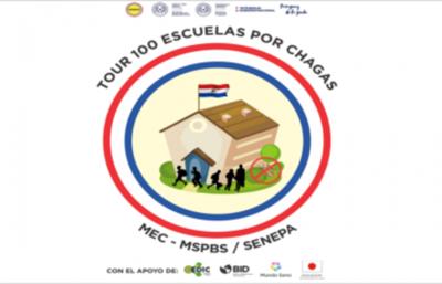 """Tour 100 escuelas por Chagas"""