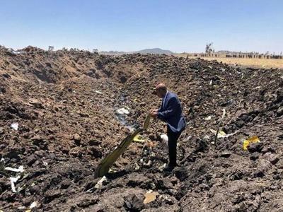 Mueren 157 personas al estrellarse un avión en Etiopía » Ñanduti