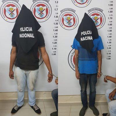 Detienen en flagrancia y procesan a dos brasileños clonadores de tarjetas