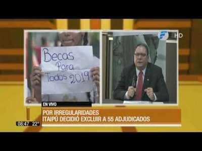 Denuncias de irregularidades revierten adjudicaciones de becas de Itaipú
