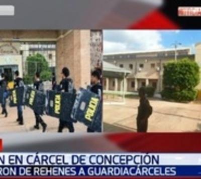 Guardia herido en amotinamiento de Cárcel de Concepción está grave