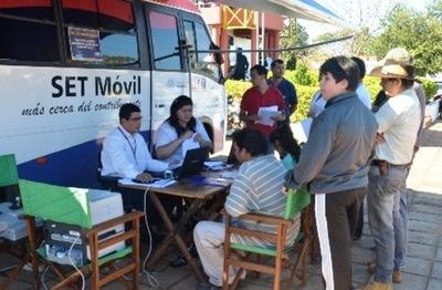 PAC Móvil de Tributación presta servicios desde hoy en Canindeyú