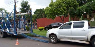 Vehículos incautados caso Cucho son trasladados a Chaco'i