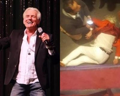 Cantante argentino queda con fuertes lesiones tras caída