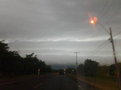 Alerta meteorológica para nueve departamentos