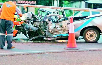 Joven muere en accidente de tránsito en Caacupé