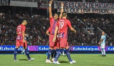 Esta noche Cerro Porteño vs Zamora