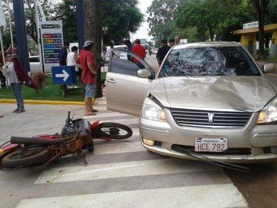 Motociclista falleció en San Juan Bautista