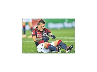 Santander se baja por lesión en el hombro