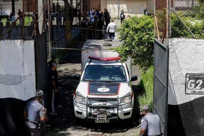 Diez muertos en ataque a escuela en Brasil