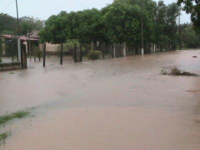 Lluvia intensa también en varias zonas de Caaguazú