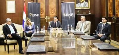 BNF presentó nuevas líneas de créditos y compra de deudas a intereses reducidos