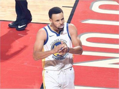 Golpe de autoridad de los Warriors a los Rockets
