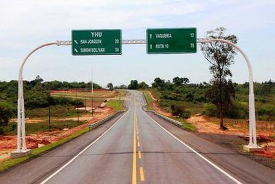 MOPC recupera Gs. 2.071 millones por incumplimiento de contrato de Ruta XIII