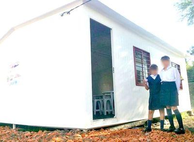 MEC no sabe en qué condiciones se licitaron aulas prefabricadas
