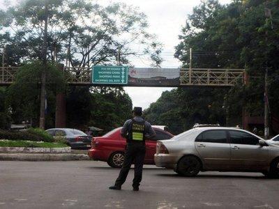 Pedirán retiro de  Caminera de la  ruta internacional y supercarretera