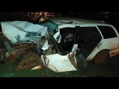 AUTOMOVILISTA FALLECE TRAS ACCIDENTE EN NATALIO