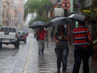 Fin de semana lluvioso en Coronel Oviedo – Prensa 5