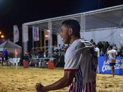 Fútbol de playa: Paraguay venció a Brasil y toma ventaja