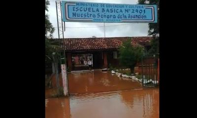 Escuela Nuestra Señora de la Asunción totalmente inundada – Prensa 5