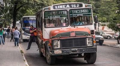 Anuncian controles y tolerancia cero a buses chatarras