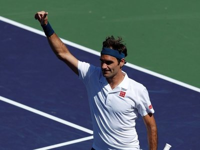 Roger Federer, rumbo a semifinales