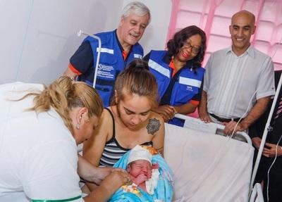 Nuevo servicio de atención materno infantil en Centro de Salud de Nanawa