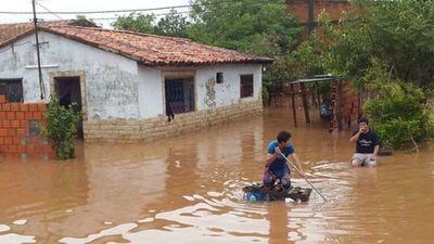 Más de 500 personas fueron rescatadas tras inundación en Limpio – Prensa 5