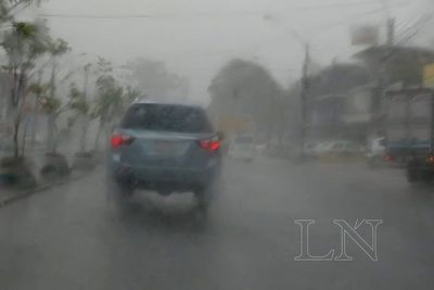 Anuncian lluvias y tormentas eléctricas para el domingo