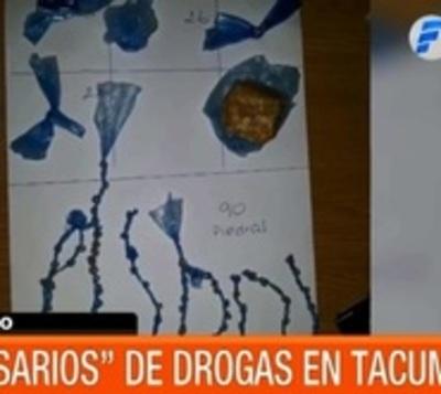 Hallaron rosarios de droga en poder de interno de Penal de Tacumbú