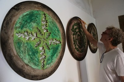 """Muestra """"Mandalas Camperchioli- Una mirada circular 1.990 a 2.019"""""""