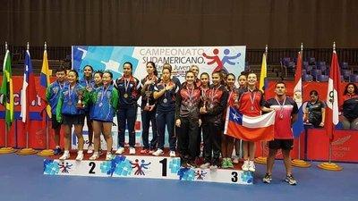 Paraguay se quedó con el bronce en tenis de mesa