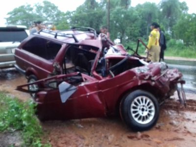 Accidente de tránsito deja dos muertos en Limpio