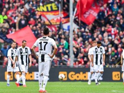 Juventus, sin Cristiano, sufre su primera derrota en Serie A