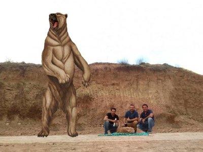 Descubren un oso gigante que vivió hace 700.000 años
