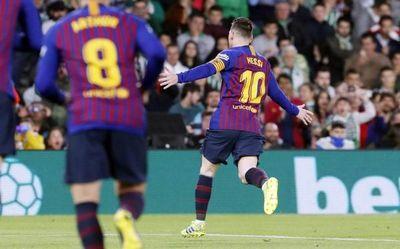 Recital de Messi en LaLiga
