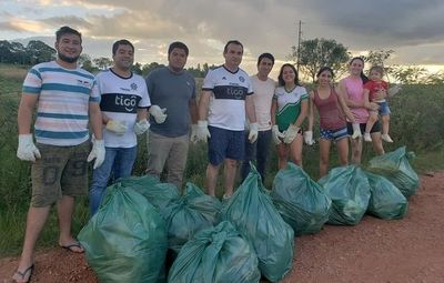 """San Juan Bautista también se sumó al """"Trashtag Challenge"""""""