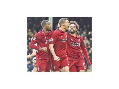 Liverpool retoma el liderato