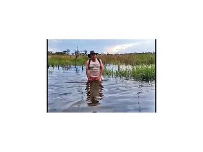 En Puentesiño nadan para salir a la ruta