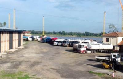 Puerto de Pilar realizará el primer envío de carga de exportación