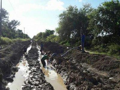 Intensas lluvias dejan caminos clausurados en Fuerte Olimpo