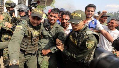 Unos 1.000 exmilitares venezolanos han sido acogidos por Colombia