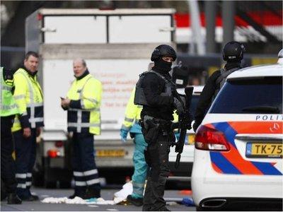 Posible ataque terrorista deja a varios heridos en Utrecht