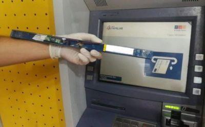 Cae otro brasileño en tentativa de robo a cajero automático en el Este