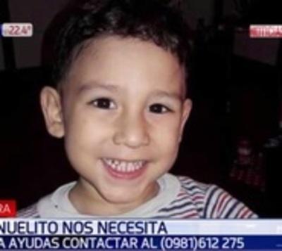 Todos por Manuelito: Piden ayuda para niño con afección cardíaca