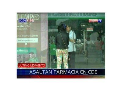 Una farmacia es asaltada por segunda vez en Ciudad del Este