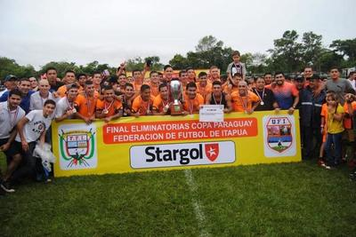 Athletic es campeón en Itapúa