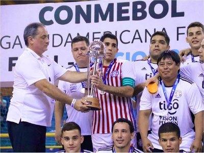 Paraguay no pudo con Brasil