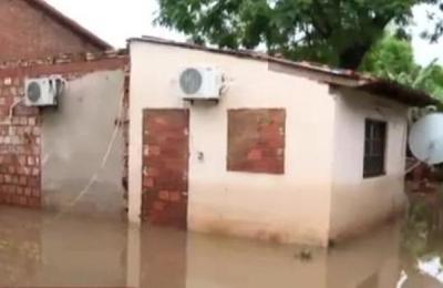 Barrio San Ramón completamente inundado